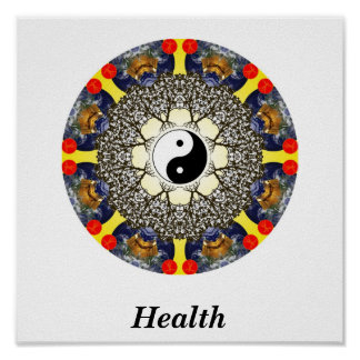Health Mandala Print
