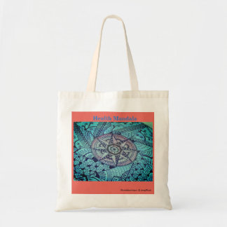 Health Mandala Tote Bag