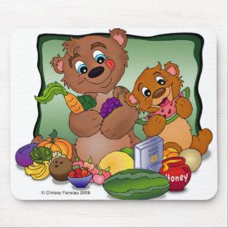 Health Nut Bears MousePad