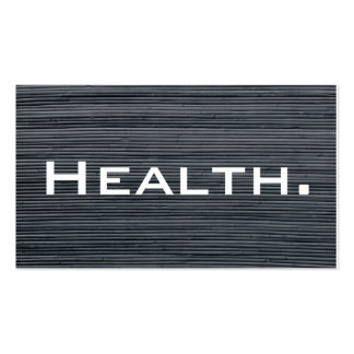 Health Professional Business Card No.2