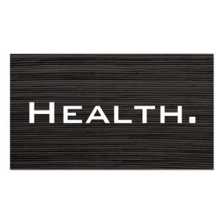 Health Professional Business Card No.4