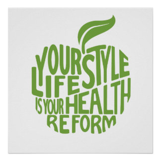 Health quote design. poster