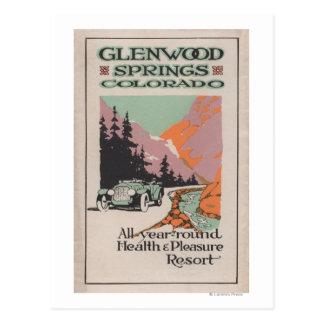 Health Resort Poster # 1 Postcard