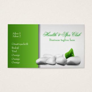 Health & shovel club business Card