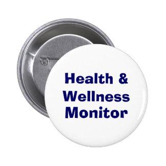 Health & Wellness , Monitor 2 Inch Round Button