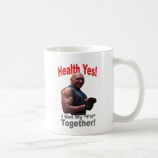 Health Yes! Coffee Mug