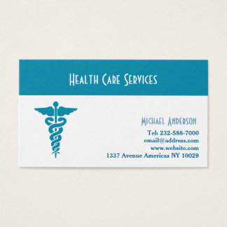 Healthcare and medical business card