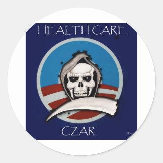 Healthcare Czar Classic Round Sticker