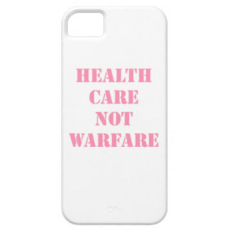 Healthcare Not Warfare Pink iPhone 5 Case