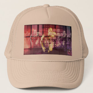 Healthcare Research Technology and Solutions as a Trucker Hat