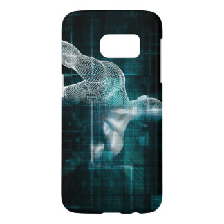 Healthcare System Network as a Digital Technology Samsung Galaxy S7 Case