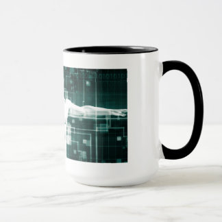 Healthcare Technology and Medical Scan Mug