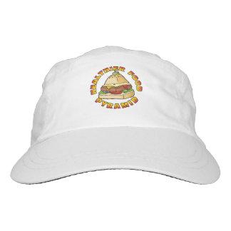 Healthier Food Pyramid Headsweats Hat