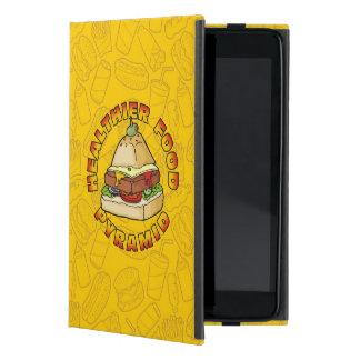 Healthier Food Pyramid iPad Mini Case