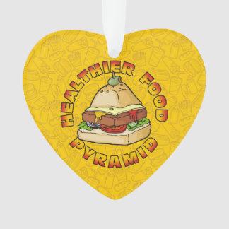 Healthier Food Pyramid Ornament