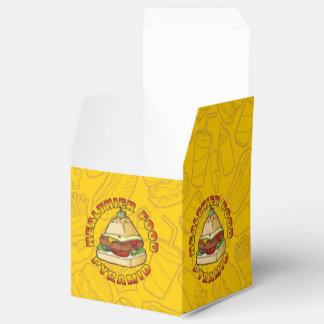 Healthier Food Pyramid Party Favor Box