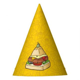 Healthier Food Pyramid Party Hat