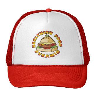 Healthier Food Pyramid Trucker Hat