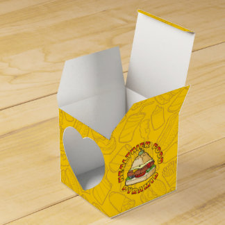 Healthier Food Pyramid Wedding Favor Box