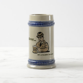Healthy Beverage Beer Stein