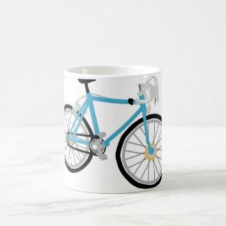 Healthy biking coffee mug