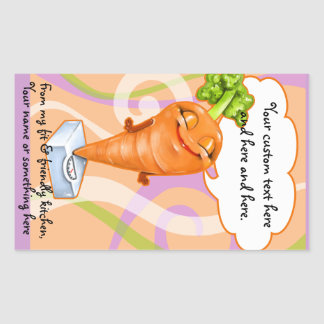 Healthy diet carrot sticker