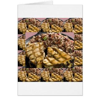 Healthy Diet Chicken n Rice Chefs Fine Cuisine Card