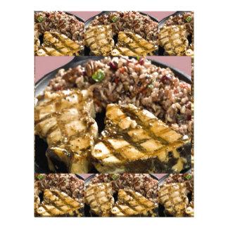 Healthy Diet Chicken n Rice Chefs Fine Cuisine Custom Letterhead