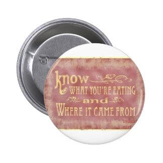 Healthy farm Eating organic Pin