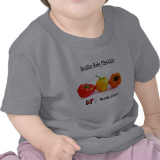 Healthy (Filipino) Baby Checklist Shirt