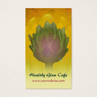 Healthy Glow/Artichoke Business Card