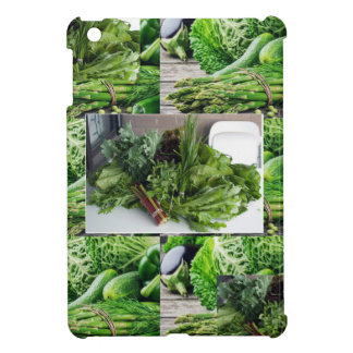 Healthy green leafy vegetable salads chefs cuisine iPad mini cases