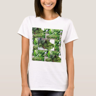 Healthy green leafy vegetable salads chefs cuisine T-Shirt
