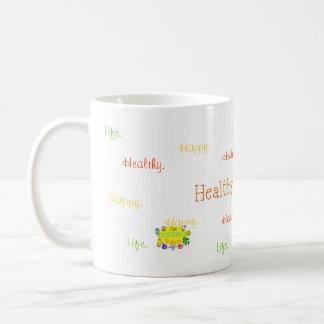Healthy. Happy. Life. Mug