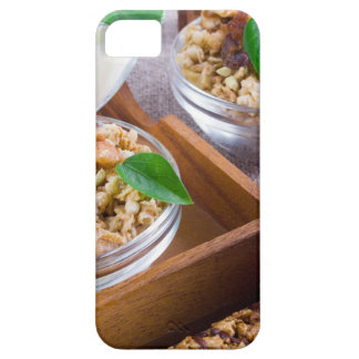 Healthy ingredients for breakfast case for the iPhone 5