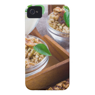 Healthy ingredients for breakfast iPhone 4 cases