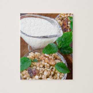 Healthy ingredients for breakfast jigsaw puzzle