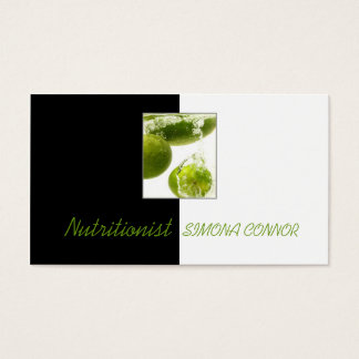 Healthy Life Nutritionist Fresh Lime In Water Card