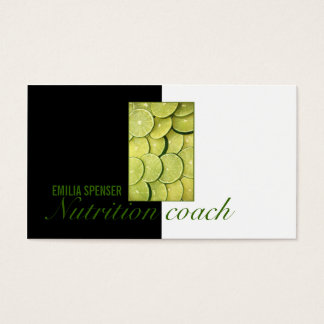 Healthy Life Nutritionist Lime Box Cute Card