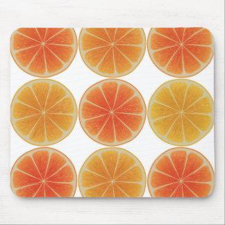 Healthy Orange slice Mouse Pad