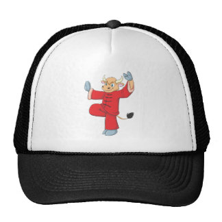 Healthy Ox Doing TaiChi Exercise Trucker Hat