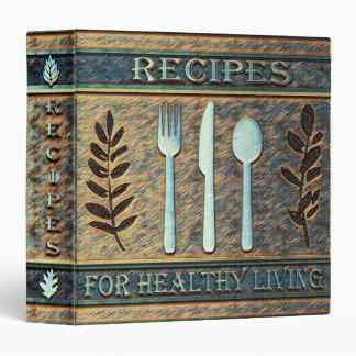 Healthy Recipes Vegetarian, Natural Vinyl Binders