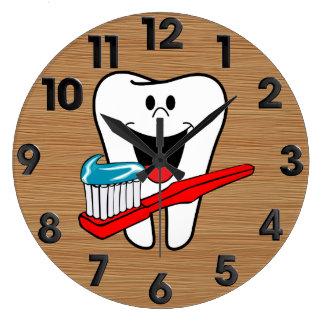 Healthy tooth wallclocks