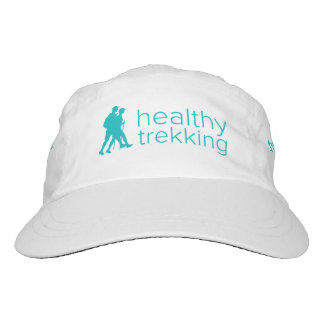 Healthy Trekking Teal Logo Active Hat