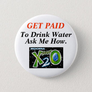 Healthy Water Loss 2 Inch Round Button