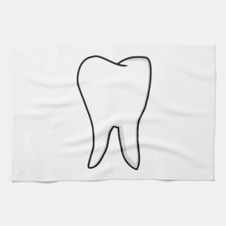 Healthy White Tooth Kitchen Towel