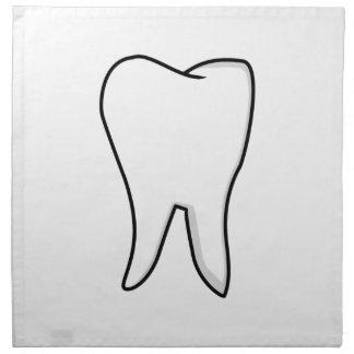 Healthy White Tooth Napkin