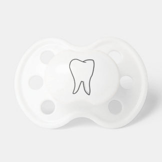 Healthy White Tooth Pacifier
