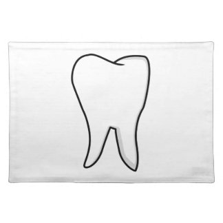 Healthy White Tooth Placemat