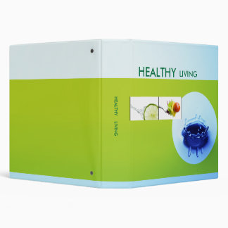 Healty Living Binder